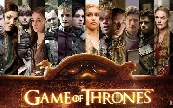 L'affiche de Game of Thrones