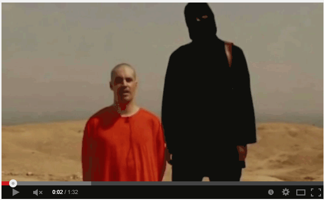 James Foley et son bourreau