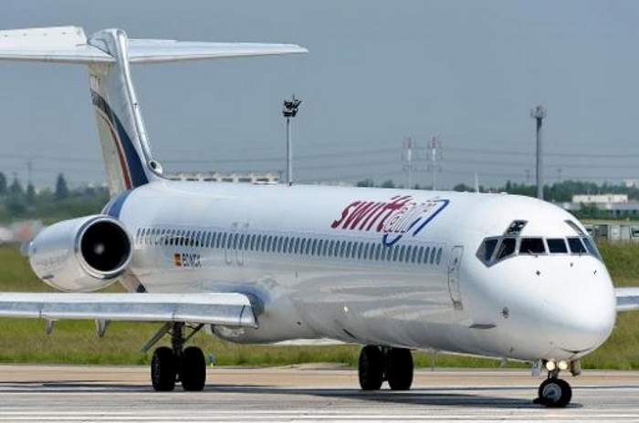 Un avion de Swift Air