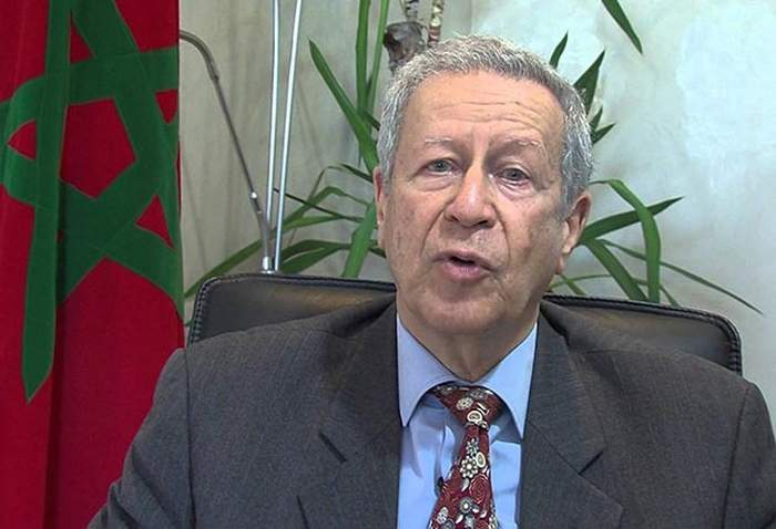 le ministre de l'éducation national Rachid Belmokhtar