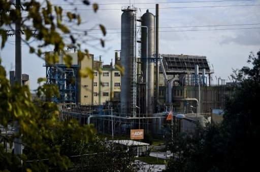 Usine de fabrication d'engrais. Photo d'illustration. Crédit: AFP